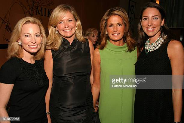 Gillian Miniter Susan Bodnar Malloy Grace Meigher and Martha O'Brien attend Kickoff of The Society of Memorial SloanKettering Cancer Center's Preview...