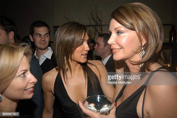 Gillian Miniter Zani Gugelmann and Elizabeth Scokin attend ALVIN VALLEY Fall 2006 Collection After Party at W Hotel on February 6 2006 in New York