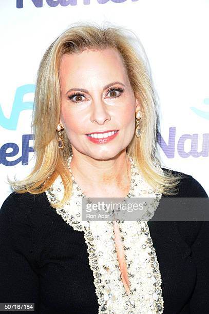 Gillian Minitor attends the NameFacecom launch at No 8 on January 27 2016 in New York City