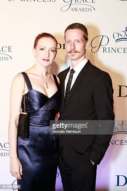 Gillian Murphy and Ethan Stiefel at the 2016 Princess Grace Awards Gala at Cipriani 25 Broadway on October 24 2016 in New York City