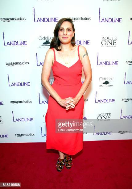 Gillian Robespierre attends Landline New York premiere at The Metrograph on July 18 2017 in New York City