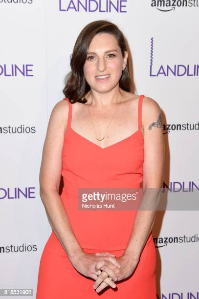 Gillian Robespierre attends the Landline New York Premiere at The Metrograph on July 18 2017 in New York City