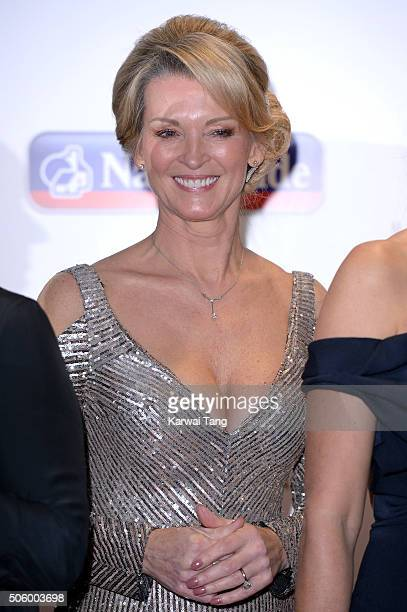 Gillian Taylforth attends the 21st National Television Awards at The O2 Arena on January 20 2016 in London England
