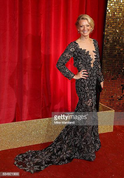 Gillian Taylforth attends the British Soap Awards 2016 at Hackney Empire on May 28 2016 in London England