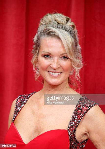 Gillian Taylforth attends the British Soap Awards 2018 at Hackney Empire on June 2 2018 in London England