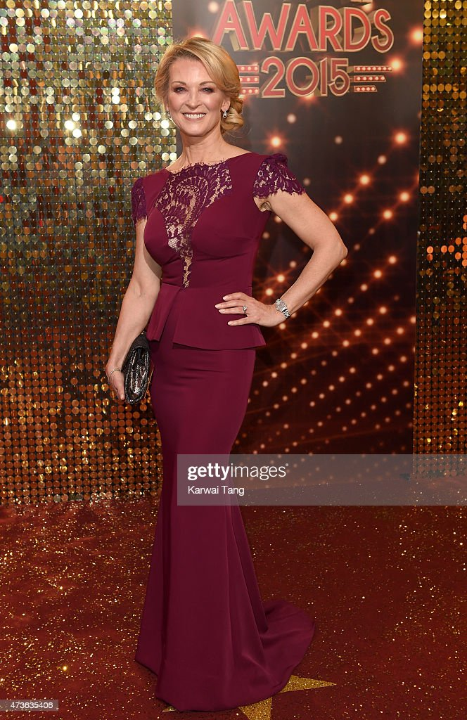 Gillian Taylforth attends the British Soap Awards at Manchester Palace Theatre on May 16, 2015 in Manchester, England.