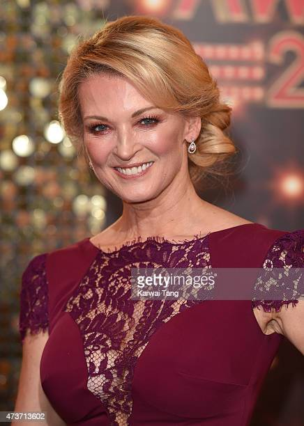 Gillian Taylforth attends the British Soap Awards at Manchester Palace Theatre on May 16 2015 in Manchester England