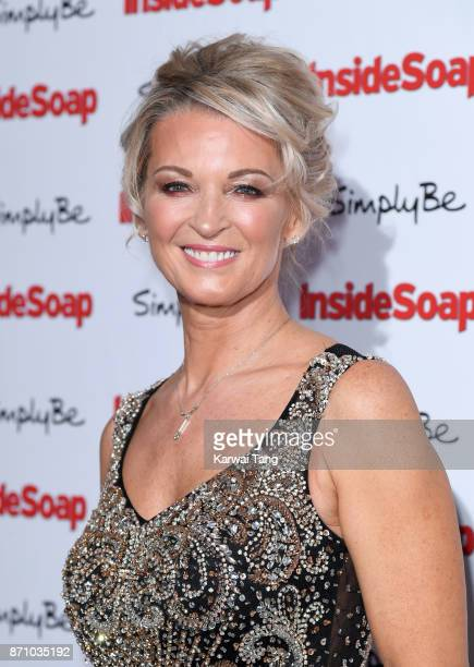 Gillian Taylforth attends the Inside Soap Awards at The Hippodrome on November 6 2017 in London England