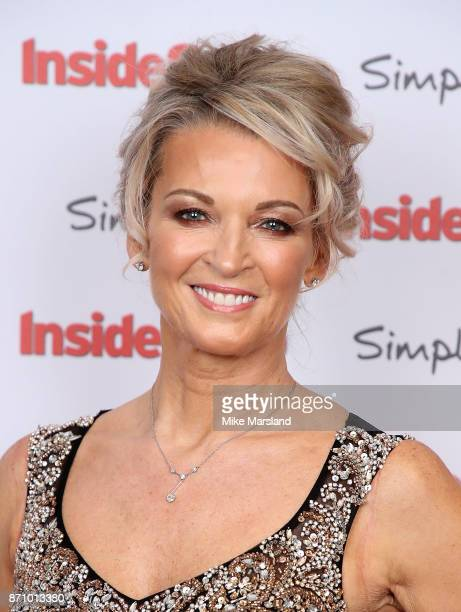 Gillian Taylforth attends the Inside Soap Awards held at The Hippodrome on November 6 2017 in London England