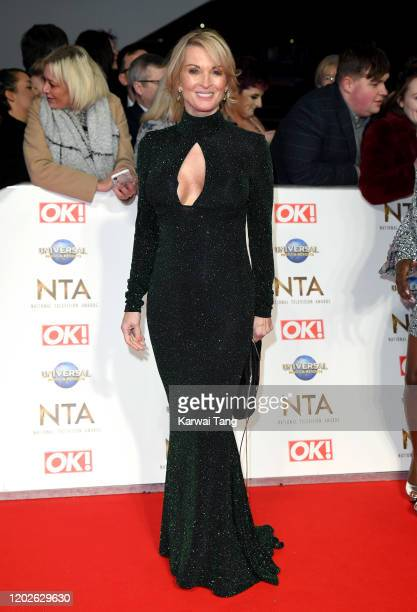 Gillian Taylforth attends the National Television Awards 2020 at The O2 Arena on January 28 2020 in London England