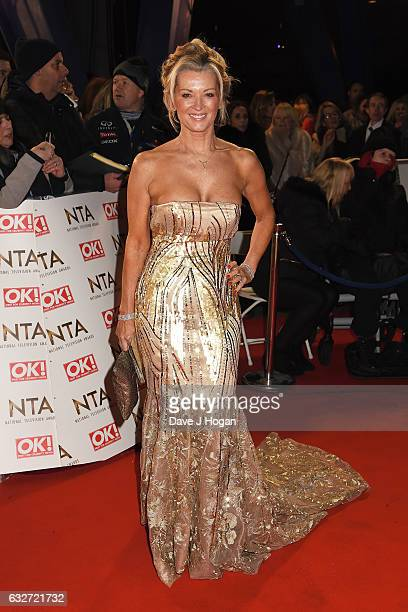 Gillian Taylforth attends the National Television Awards at Cineworld 02 Arena on January 25 2017 in London England