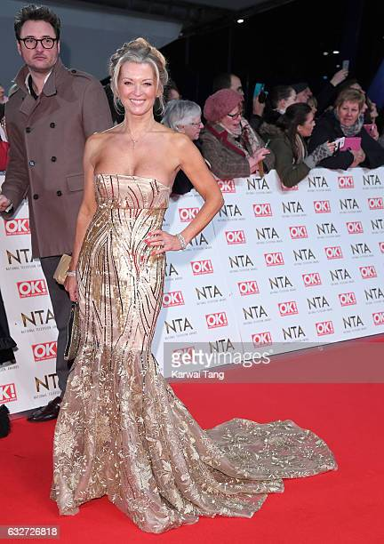 Gillian Taylforth attends the National Television Awards at The O2 Arena on January 25 2017 in London England