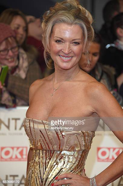 Gillian Taylforth attends the National Television Awards on January 25 2017 in London United Kingdom