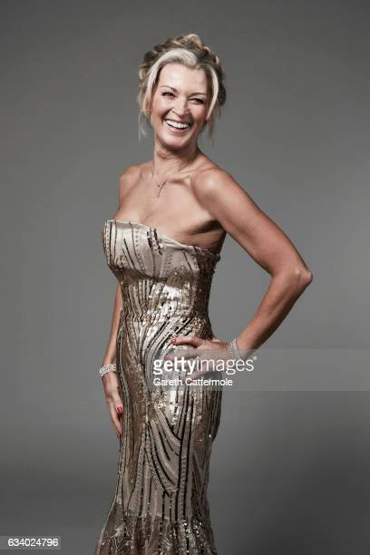 Gillian Taylforth attends the National Television Awards Portrait Studio at The O2 Arena on January 25 2017 in London England