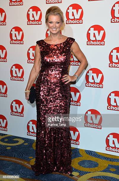 Gillian Taylforth attends the TV Choice Awards 2014 at London Hilton on September 8 2014 in London England