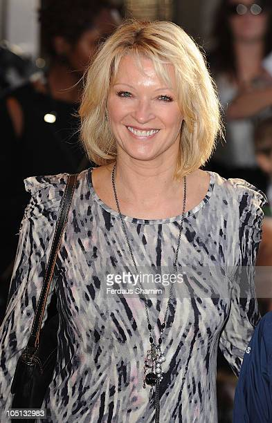 Gillian Taylforth attends the UK premiere of 'Legend Of The Guardians' at Odeon West End on October 10 2010 in London England
