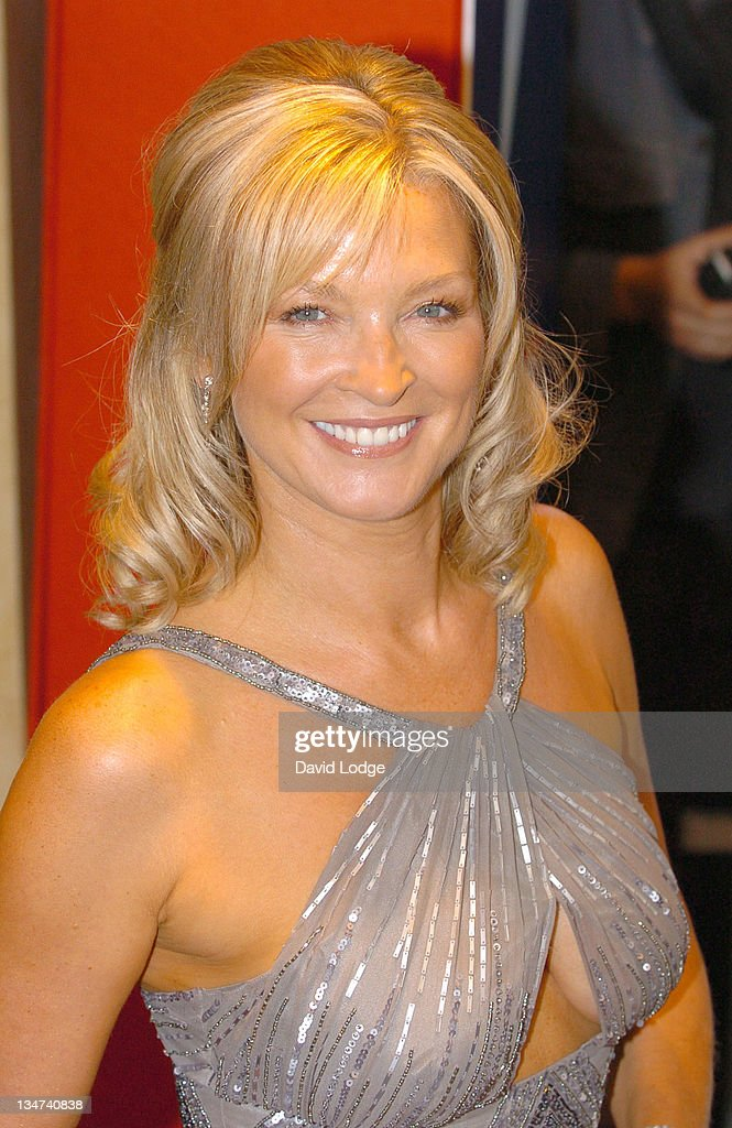 Gillian Taylforth during 2005 TV Quick & TV Choice Awards - Arrivals at The Dorchester in London, Great Britain.