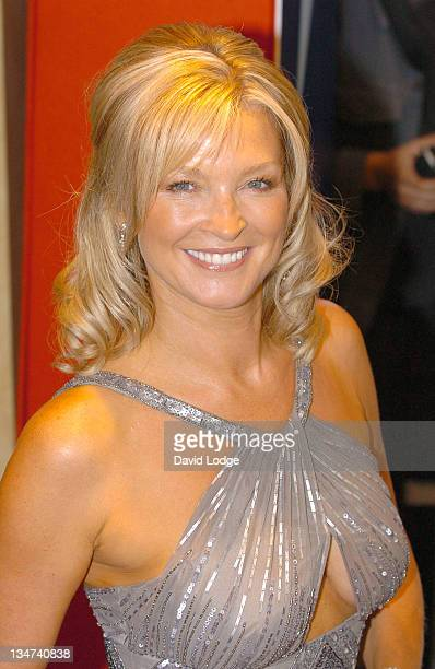 Gillian Taylforth during 2005 TV Quick TV Choice Awards Arrivals at The Dorchester in London Great Britain