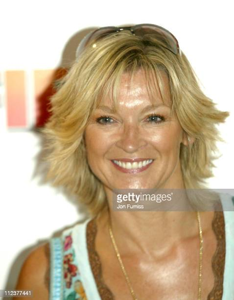 Gillian Taylforth during 'Garfield A Tail of Two Kitties' Gala Screening at Vue West End in London Great Britain