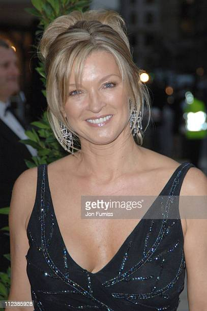 Gillian Taylforth during ITV's 50th Anniversary Royal Reception Outside Arrivals at Guildhall in London Great Britain