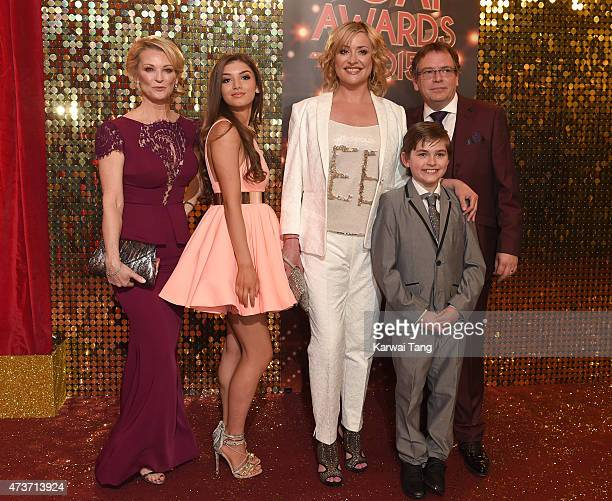Gillian Taylforth Mimi Keene Laurie Brett Eliot Carrington and Adam Woodyatt attend the British Soap Awards at Manchester Palace Theatre on May 16...