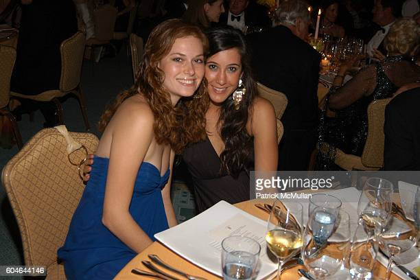 Gillian Turner and Vanessa Carlton attend The RITZCARLTON GRAND CAYMAN Opening Gala at The RitzCarlton on January 6 2006 in Grand Cayman Cayman...