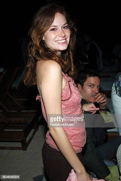 Gillian Turner attends SHERYL CROW Concert for The RITZCARLTON GRAND CAYMAN Grand Opening at The RitzCarlton on January 7 2006 in Grand Cayman Cayman...