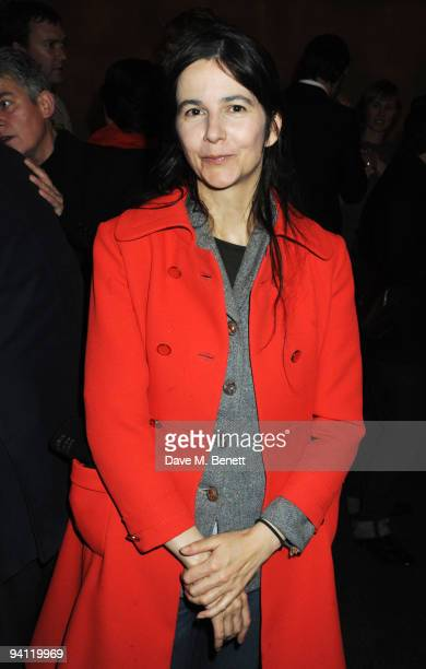 Gillian Wearing attends the Turner Prize 2009 winner announcement at Tate Britain on December 7 2009 in London England