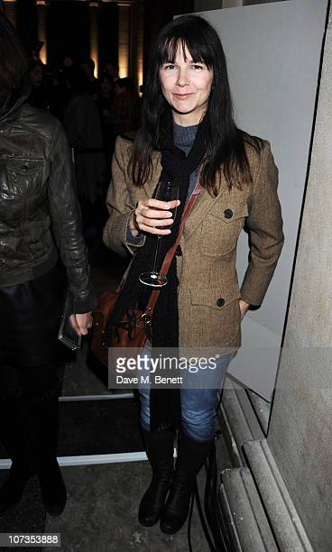 Gillian Wearing attends the Turner Prize 2010 winner announcement at Tate Britain on December 6 2010 in London England