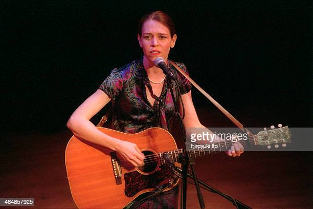 Gillian Welch and David Rawlings performing at Town Hall on Thursday night August 2 2001This imageGillian Welch