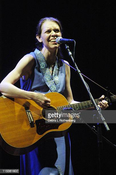 Gillian Welch during Gillian Welch in Concert at Beacon Theater in New York City New York United States