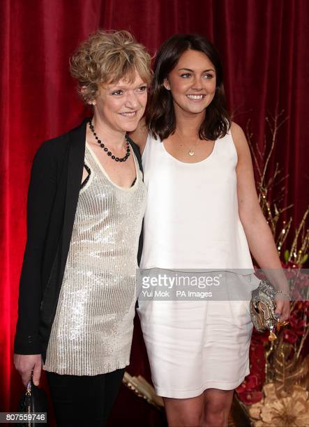 Gillian Wright and Lacey Turner arriving for the 2010 British Soap Awards at the ITV Studios South Bank London