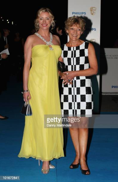 Gillian Wright and Laurie Brett attend the after party for the Philips British Academy Television awards at Natural History Museum on June 6 2010 in...