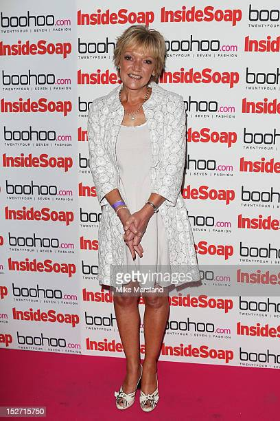 Gillian Wright attends the Inside Soap Awards at One Marylebone on September 24 2012 in London England
