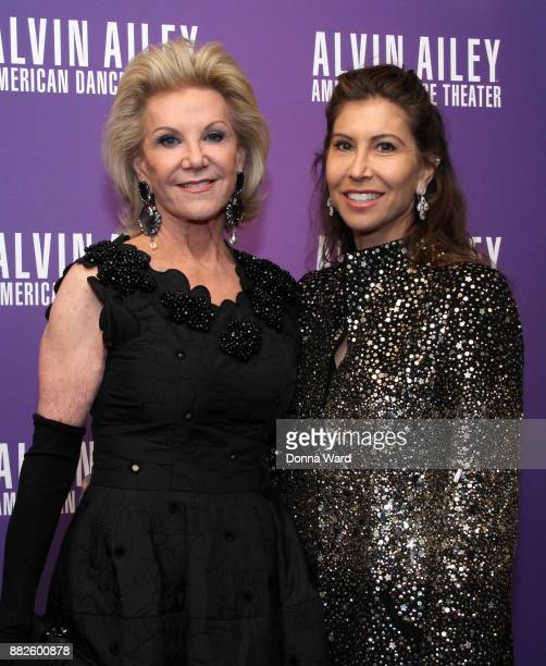 Gillian Wynn and Elaine Wynn attend Alvin Ailey's 2017 Opening Night Gala at New York City Center on November 29 2017 in New York City