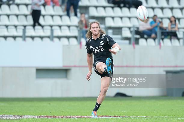 Gillies Kaka of New Zealand during the match between New Zealand and Russia during the HSBC PARIS SEVENS tournament at Stade Jean Bouin on May 13...