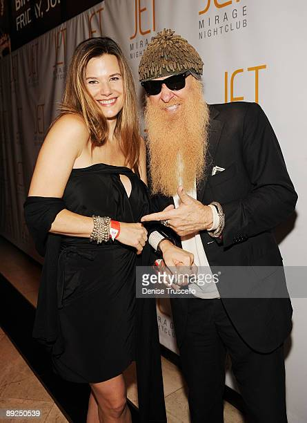 Gilligan Stillwater and Billy Gibbons arrives Jet Nightclub atThe Mirage Hotel and Casino on July 24 2009 in Las Vegas Nevada