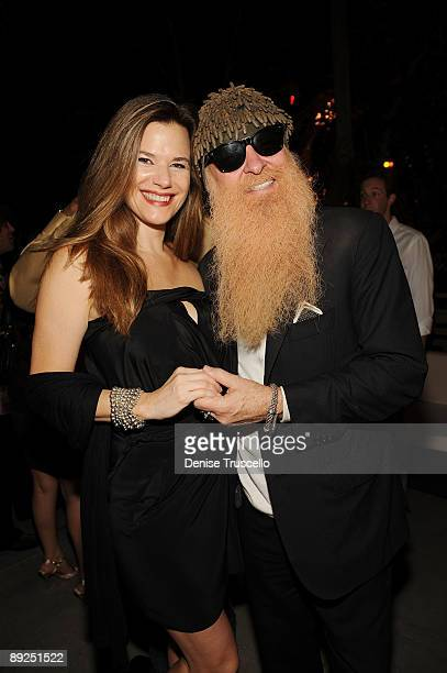 Gilligan Stillwater and Billy Gibbons attend Slash's birthday cocktail party at Rhumbar at The Mirage Hotel and Casino on July 24 2009 in Las Vegas...