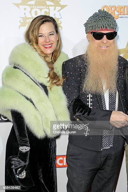 Gilligan Stillwater and musician Billy Gibbons attendd the Classic Rock And Roll Honour 2014 Award Ceremony at Avalon on November 4 2014 in Hollywood...