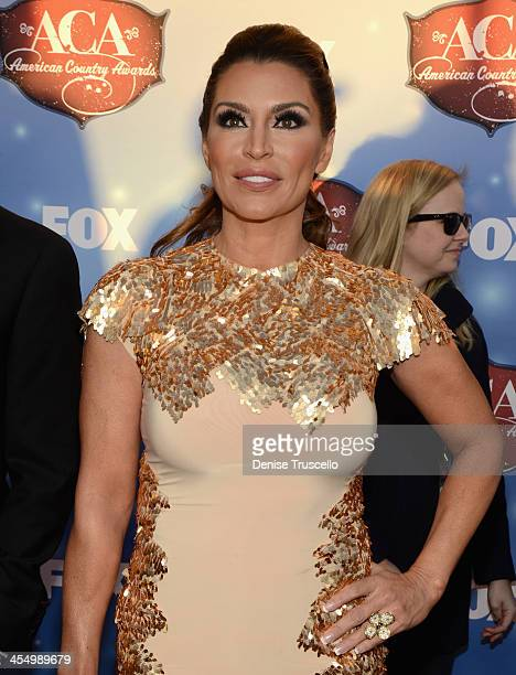 Gilligan Stillwater arrives at the American Country Awards 2013 at the Mandalay Bay Events Center on December 10 2013 in Las Vegas Nevada