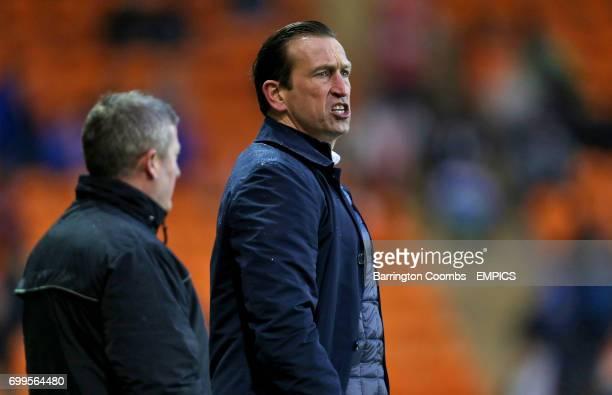 Gillingham manager Justin Edinburgh