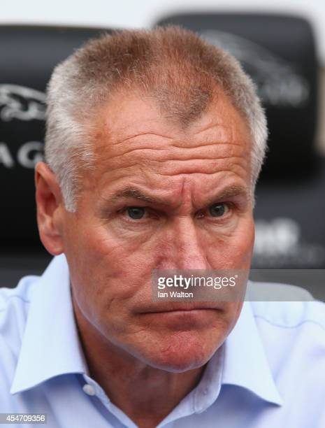 Gillingham manager Peter Taylor looks on during the Sky Bet League One match between Coventry City and Gillingham at Ricoh Arena on September 5 2014...