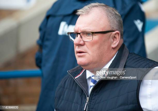 Gillingham manager Steve Evans during the Sky Bet League One match between Gillingham and Lincoln City at MEMS Priestfield Stadium on November 16...
