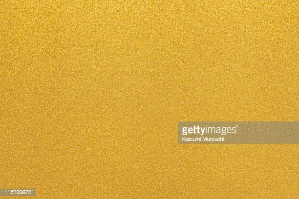 gilliter gold paper texture background - 金色 ストックフォトと画像
