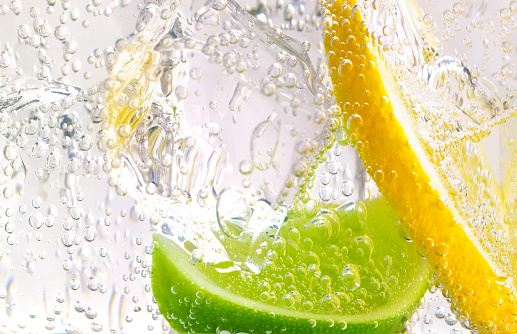 Gin and Tonic with lemon and lime - gettyimageskorea