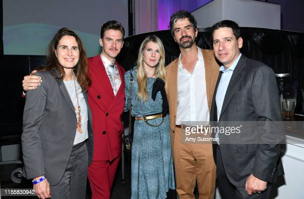 Gina Balian Dan Stevens Lily Rabe Hamish Linklater and Eric Schrier attend the LA premiere of FX's Legion Season 3 after party on June 13 2019 in...