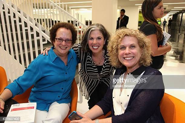 Gina Barnett and guests attend the book release party for Gina Barnett's Play the Part at GLG on June 17 2015 in New York City