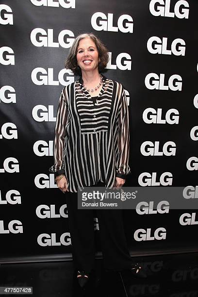 Gina Barnett attends her book release party for Play the Part at GLG on June 17 2015 in New York City