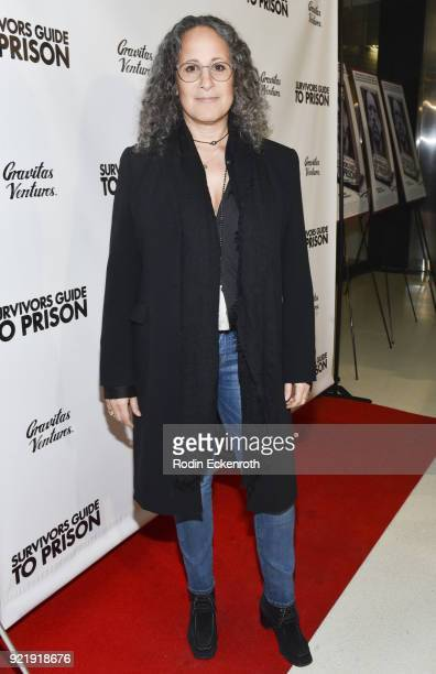 Gina Belafonte attends the premiere of Gravitas Pictures' 'Survivors Guide To Prison' at The Landmark on February 20 2018 in Los Angeles California