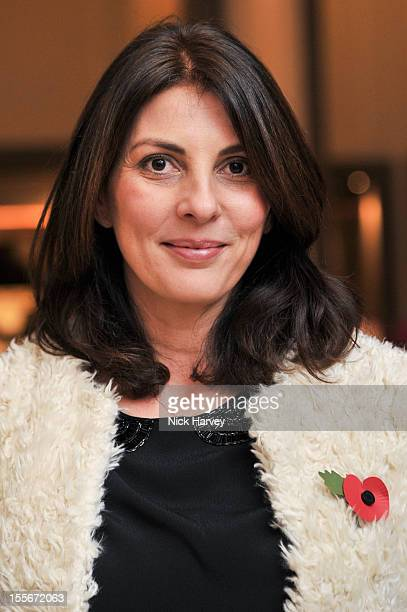 Gina Bellman attends the Great Boodles Bangle launch at Corinthia Hotel London on November 6 2012 in London England
